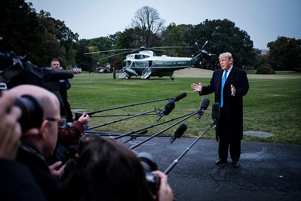 The Media「President Trump Departs The White House For Charlotte. NC」:写真・画像(8)[壁紙.com]