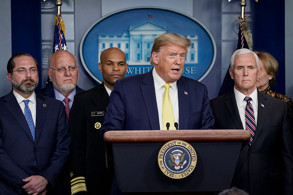 Teamwork「President Trump Joins Coronavirus Task Force Briefing At White House」:写真・画像(2)[壁紙.com]