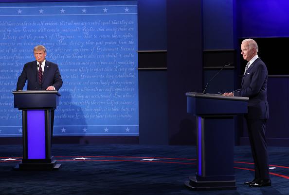 Presidential Election「Donald Trump And Joe Biden Participate In First Presidential Debate」:写真・画像(16)[壁紙.com]