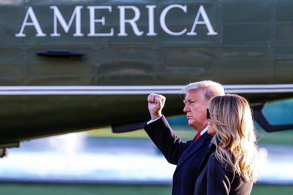 Outdoors「President Trump Departs White House For Holiday Break In Florida」:写真・画像(15)[壁紙.com]