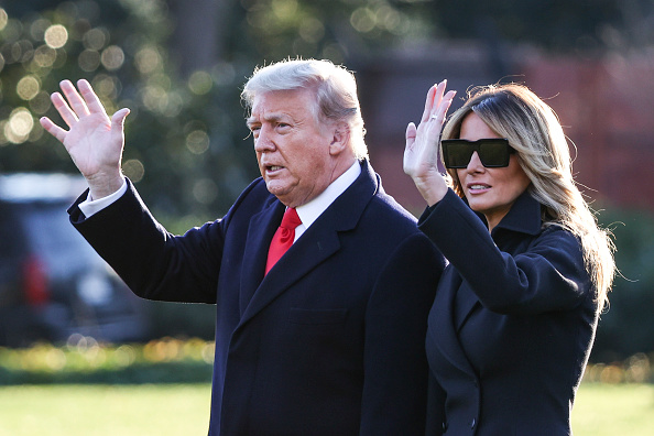 Outdoors「President Trump Departs White House For Holiday Break In Florida」:写真・画像(16)[壁紙.com]