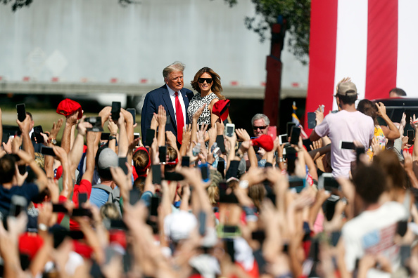 Tampa「President Donald Trump Holds Campaign Rally In Tampa」:写真・画像(12)[壁紙.com]