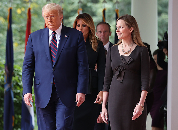 Four People「President Trump Announces His Supreme Court Nominee To Replace Justice Ginsburg」:写真・画像(6)[壁紙.com]