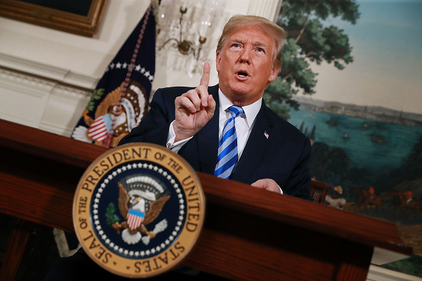 Iran「President Trump Makes Announcement On Iran Deal」:写真・画像(11)[壁紙.com]