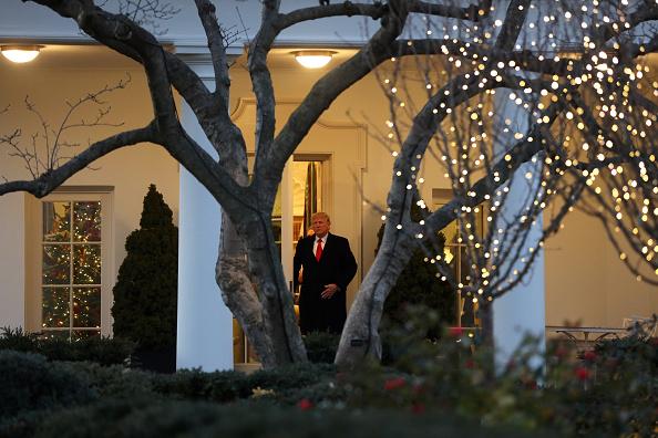 トピックス「President Trump Departs White House For Michigan Campaign Rally On Day Of House Impeachment Vote」:写真・画像(2)[壁紙.com]