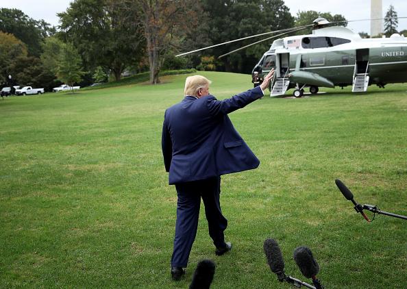 Rear View「President Trump Departs White House For Florida」:写真・画像(17)[壁紙.com]