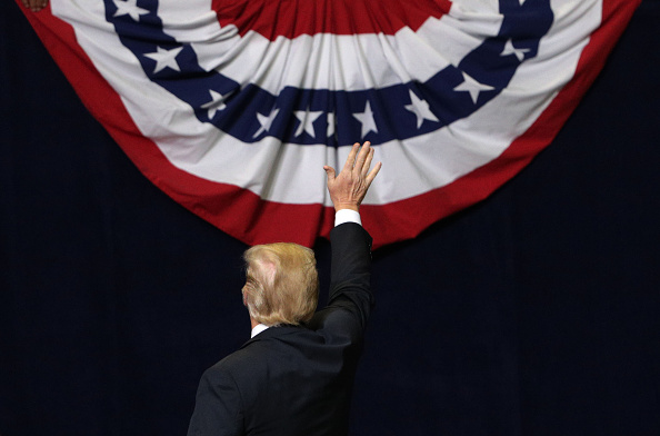 Rear View「President Trump Holds Campaign Rally In Chattanooga, Tennessee」:写真・画像(13)[壁紙.com]