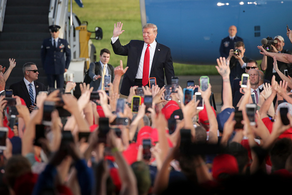 "US Republican Party「Donald Trump Holds ""MAGA"" Rally In Central Pennsylvania」:写真・画像(19)[壁紙.com]"