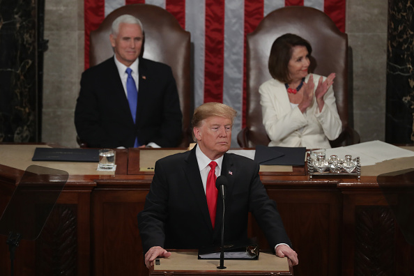 Week「President Trump Delivers State Of The Union Address To Joint Session Of Congress」:写真・画像(8)[壁紙.com]