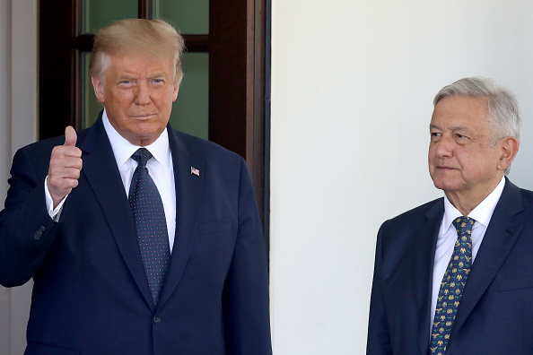 Greeting「Donald Trump Welcomes Mexican President Andres Manuel Lopez Obrador To The White House」:写真・画像(15)[壁紙.com]