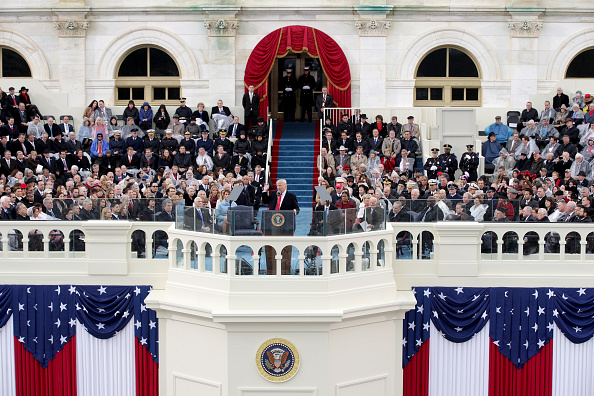 Presidential Inauguration「Donald Trump Is Sworn In As 45th President Of The United States」:写真・画像(18)[壁紙.com]