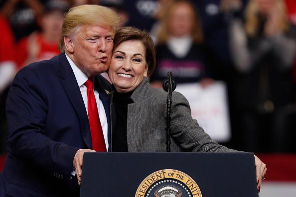Iowa「President Trump Campaigns In Iowa Ahead Of Democratic Caucus」:写真・画像(10)[壁紙.com]