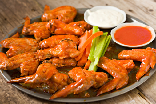 Chicken Wing「Hot Wings With The Works」:スマホ壁紙(7)