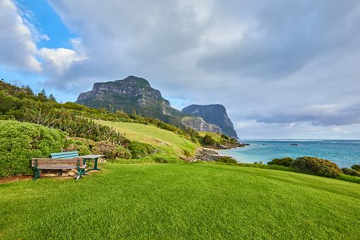 ゴア山「Mt Gower and Mt Lidgbird,Lord Howe Island,New South Wales,Australia」:スマホ壁紙(8)
