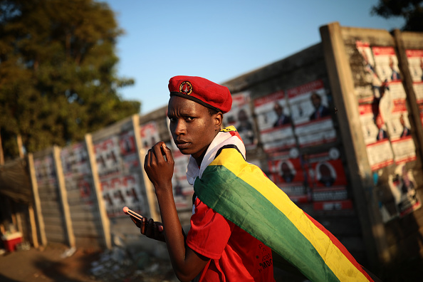 Zimbabwe「Zimbabwe Political Parties Hold Final Rallies Before The General Election」:写真・画像(17)[壁紙.com]