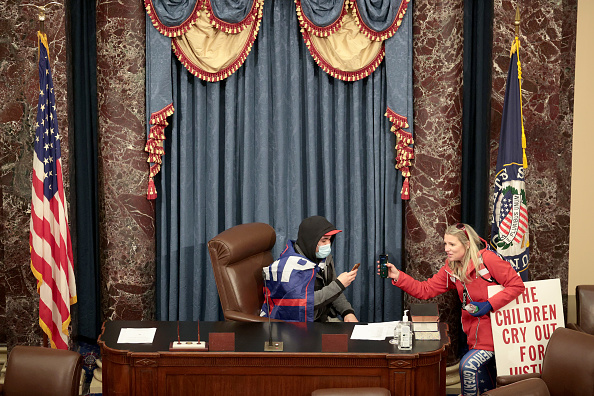 Capitol Hill「Congress Holds Joint Session To Ratify 2020 Presidential Election」:写真・画像(5)[壁紙.com]