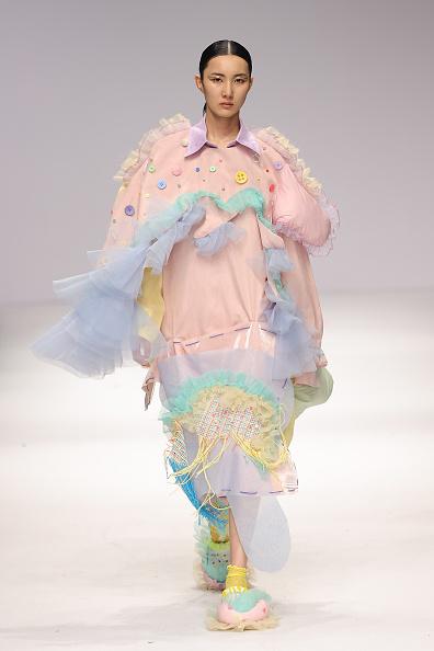 Maxi Dress「2021 China Graduate Fashion Week - Day 3」:写真・画像(19)[壁紙.com]