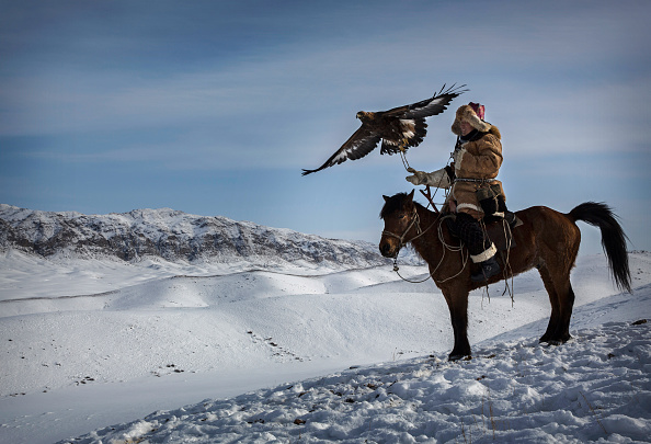 Kazakhstan「China's Kazakh Minority Preserve Culture Through Eagle Hunting in Western China」:写真・画像(9)[壁紙.com]