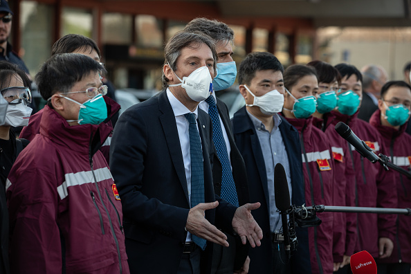 Expertise「Chinese Medical Team Arrives In Milan」:写真・画像(1)[壁紙.com]
