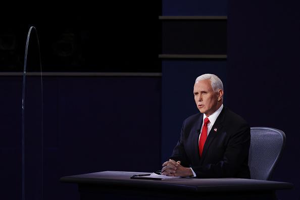 Participant「Mike Pence And Kamala Harris Take Part In Vice Presidential Debate」:写真・画像(14)[壁紙.com]