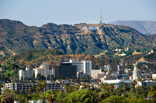 City Of Los Angeles「Hollywood Hills」:スマホ壁紙(1)