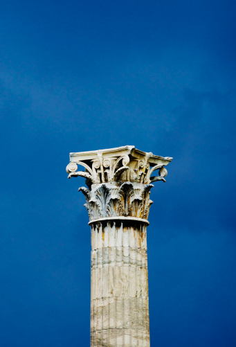 God「Greece, Athens, Corinthian column at Temple of Olympian Zeus」:スマホ壁紙(17)