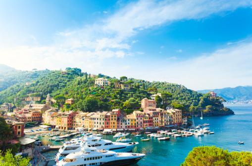 Cityscape「Portofino, Liguria, Italy」:スマホ壁紙(4)