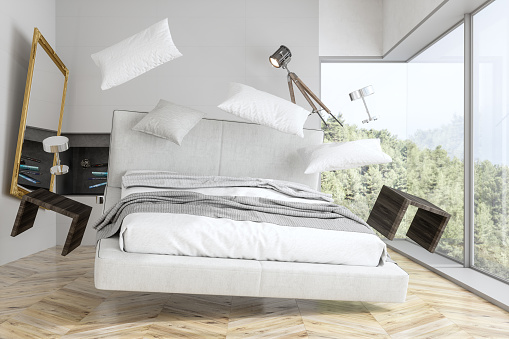Insurance「Zero Gravity Bedroom With Forest View」:スマホ壁紙(13)