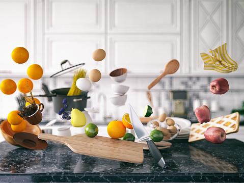 Expertise「Zero Gravity in Kitchen」:スマホ壁紙(19)