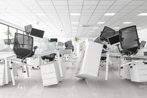 Earthquake「Zero Gravity Open Space Office」:スマホ壁紙(16)