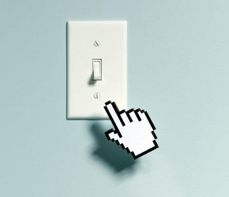 Light Switch「Bitmap Hand and Light Switch」:スマホ壁紙(18)