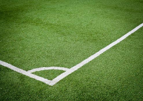 Corner Marking「Angle Of Soccer Field」:スマホ壁紙(5)
