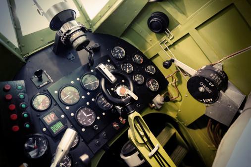 Passenger Cabin「Spitfire cockpit」:スマホ壁紙(6)