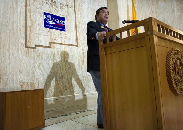 Rick Scibelli「Bill Richardson Withdraws From Presidential Race」:写真・画像(6)[壁紙.com]