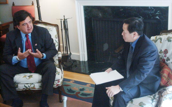 Rick Scibelli「NM Governor Richardson Meets With North Korean Envoys 」:写真・画像(2)[壁紙.com]