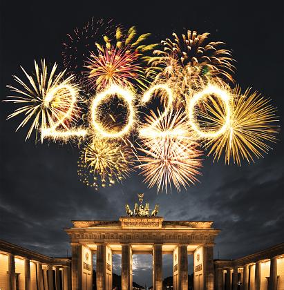花火「ベルリンの大晦日」:スマホ壁紙(2)