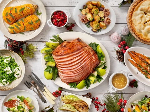Apple Pie「Holiday Spiral Ham Dinner」:スマホ壁紙(5)