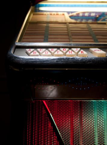 Rock Music「detail from jukebox」:スマホ壁紙(4)