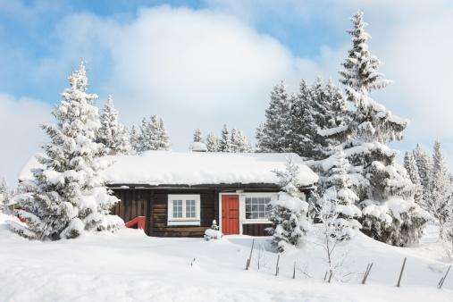 Chalet「Log cabin」:スマホ壁紙(0)
