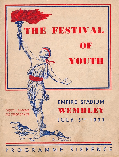 Vitality「The front cover of the programme for The Festival of Youth, 1937」:写真・画像(19)[壁紙.com]