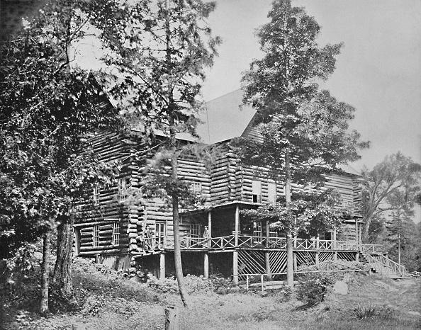 Log「Old Log Cabin」:写真・画像(18)[壁紙.com]