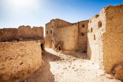 El Siwa「Mud-brick houses in Shali - Siwa Oasis」:スマホ壁紙(2)
