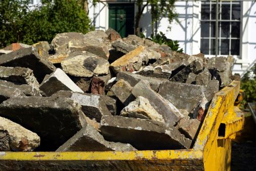 Paving Stone「Yellow Builders Rubbish Skip」:スマホ壁紙(4)