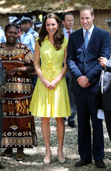 Yellow「The Duke And Duchess Of Cambridge Diamond Jubilee Tour - Day 7」:写真・画像(16)[壁紙.com]