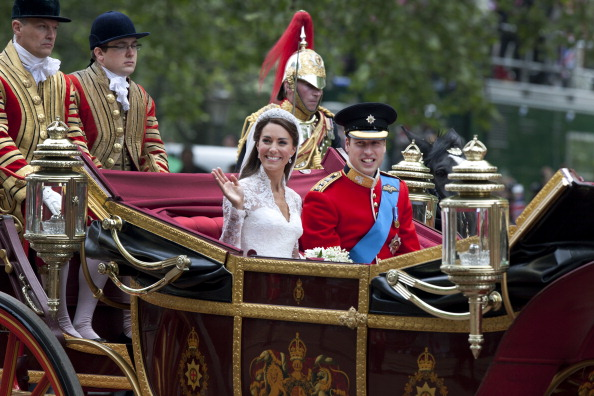 Royal Wedding of Prince William and Catherine Middleton「Royal Wedding Couple」:写真・画像(1)[壁紙.com]