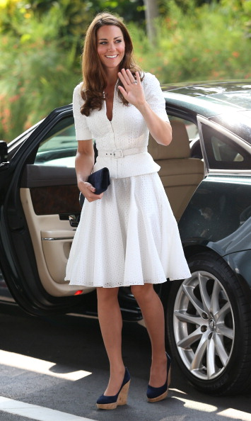 White Color「The Duke And Duchess Of Cambridge Diamond Jubilee Tour - Day 2」:写真・画像(13)[壁紙.com]