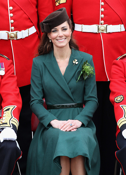 Belt「The Duchess Of Cambridge Visits The Irish Guards On Their St Patrick's Day Parade」:写真・画像(17)[壁紙.com]