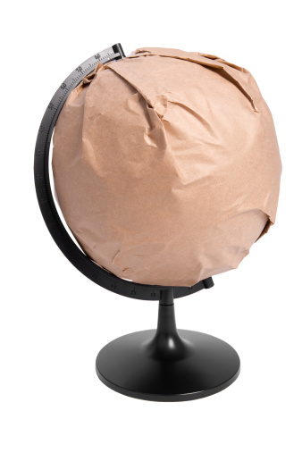 Meteorology「Globe wrapped」:スマホ壁紙(3)