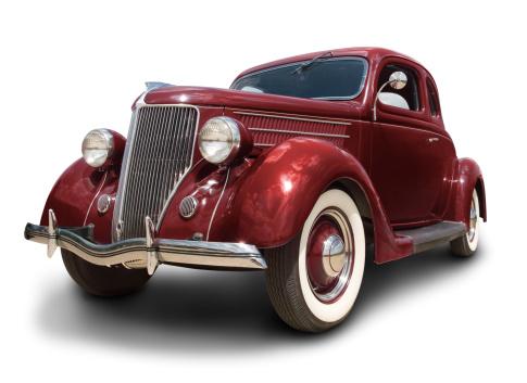 Hot Rod Car「Early Ford Car」:スマホ壁紙(7)