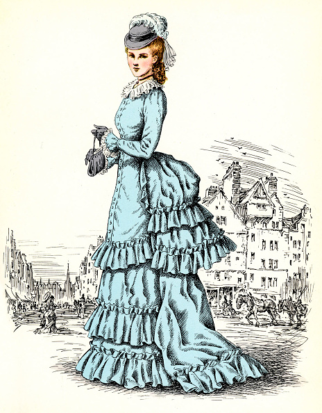 Purse「Scottish women 's fashion: 1872」:写真・画像(13)[壁紙.com]